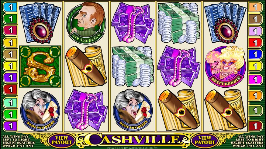 Cashville gokkast