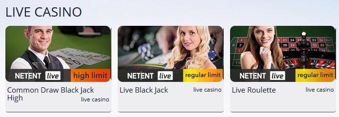 Nederlands live casino gokken