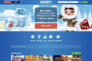 Eskimo Casino screen