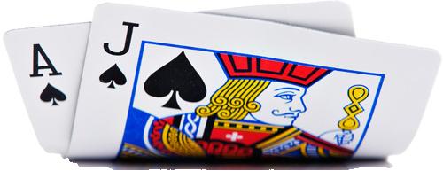 Blackjack kaarten